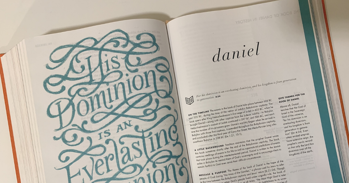 Lessons from the book of Daniel – Part 3